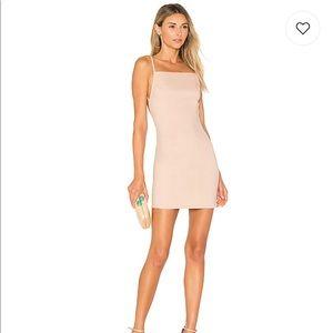 Petra Backless Mini Dress in Blush